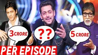 Highest Paid TV Show Host, Koun Leta Hai Sabse Jyada Fees ?