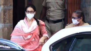 Sara Ali Khan Se NCB Ki Puchtach Khatam, NCB Office Se Nikli, Drug Leti Thi Nahi Mana