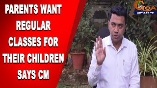 CM Says Many Parents Are Demanding Regular Classes For 10th & 12th. Are You One Of Them?