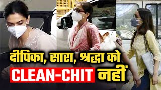 NCB Ka Deepika, Sara Aur Shraddha Ko CLEAN-CHIT Nahi, Wapis Kar Sakti Hai Summon