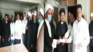 Waqf Board Chairman Md Saleem   Cheques Distribute To Imams and Muazzans   Hajj House Nampally  