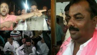 Khaja Bilal Aur Musthaq Malik Ne Kiya Masoom Ladki Ke Liye Protest   At Moinabad  @Sach News