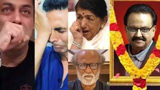 ShahRukh Khan, Rajinikanth, Salman, Akshay, Very Emotional Reaction After losing SP Balasubrahmanyam