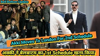 Bell Bottom Shooting Update: Akshay Kumar Ne Glasgow Ka 1st Schedule Complete Kiya, Ab London Rawana