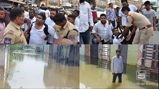 Shaheen Nagar Mai Mohd Ghouse Ne TRS Govt ki Khilaf kiya protest Kiya