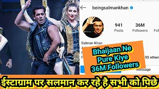 Salman Khan Ne Pure Kiya Instagram Par 36 Million Followers