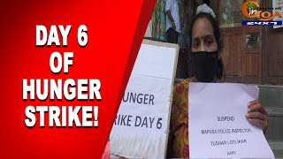 Day 6 | Aishwarya alleges that police are compelling them to break the Hunger Strike.