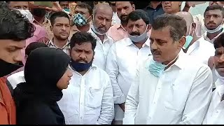 Konda Vishweshwar Reddy Meets The Family Of Moindabad Case Victim |@Sach News