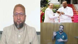 Khaja Bilal Ne Ye Kya Boldiya Asaduddin Owaisi Aur Mahmood Ali Ko |@Sach News
