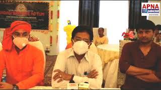 Gorakhpur City के ADM श्री राकेश श्रीवास्तव Zindagi BanGaye HoTum film के मुहूर्त पर उपस्थित