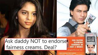 SRK Kyon Kar Rahe Hai Fairness Cream Ko Promote? Social Media Par Suhana Khan Ho Rahi Hai Troll