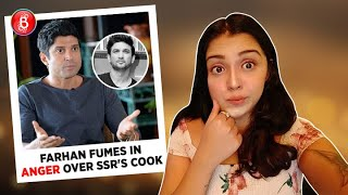 Farhan Akhtar Got Angry Over Reports Of Him Employing Sushant Singh Rajput's Cook
