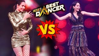 India's Best Dancer | Malaika Arora Vs Nora Fatehi | Who Is Best Judge?