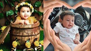 Alya Manasa Daughter Aila Cute Photoshoot