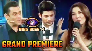 Bigg Boss 14 Grand Premiere: Sidharth Shukla Aur Gauhar Khan Stage Par Salman Ke Samne Bhid Gaye
