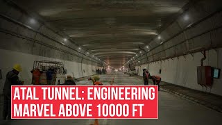 Atal Tunnel: Why opening of world's longest highway tunnel above 10,000ft significant?