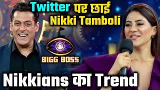 Bigg Boss 14   Nikki Tamboli Ke Show Ke Pehle Fan Pages, Nikkians Ki Twitter Par Dhoom