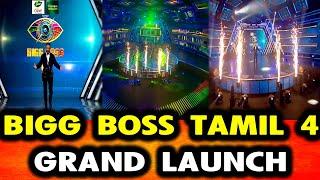 BIGG BOSS TAMIL 4 | 1st EPISODE | BIGG BOSS TAMIL 4 LIVE | GRAND LAUNCH | KAMAL HASAN SPEECH