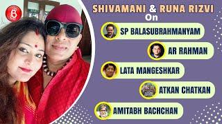 Shivamani And Runa Rizvi Chat On SP Balasubrahmanyam, AR Rahman, Lata Mangeshkar & Amitabh Bachchan