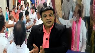 TRS Workers Ki Ladai Home Minister Ke Samne | Abids Hyderabad |@Sach News