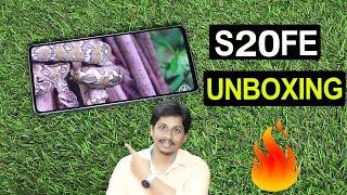 Samsung S20FE Unboxing Telugu