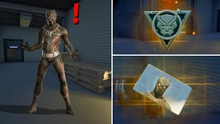 Fortnite All New Bosses, Vault Locations & Mythic Weapons, KeyCard Boss Black Panther in Season 4