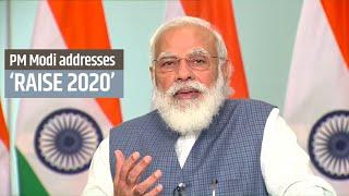 PM Modi addresses RAISE 2020 - 'Responsible AI for Social Empowerment 2020' | PMO