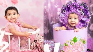 Alya Manasa Daughter Aila half year birthday photo shoot
