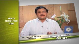 Prevention of Sinus tips by dietician साइनस सांस में तकलीफ से कैसे बचें
