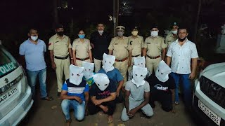 Calangute police nab 7 involved in two separate chain snatching