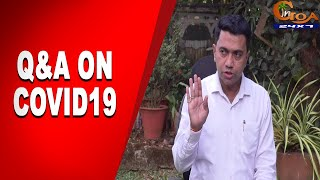 Covid19 | Q&A with Chief Minister Dr Pramod Sawant