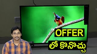Hisense 108 cm 43 inches Full HD Smart Android LED TV Under 22,000 Unboxing Telugu