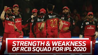 RCB : Strongest Team in the IPL 2020 ? | CricTracker