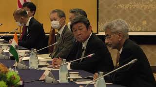 Opening Remarks by the EAM during the 2nd Quad Ministerial Meeting in Tokyo, Japan (6 October 2020)