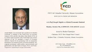 Interaction with Prof Joseph Stiglitz on Global Economic Outlook