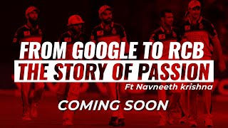 From the desk of the google to the voice of RCB | Navneeth Krishna  | Trailer | CricTraker |