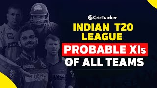Indian T20 League 2020 | All teams playing 11 | Best predicted 11 of all teams | CricTracker