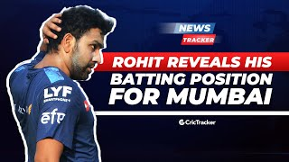 Indian T20 League – Rohit Sharma reveals his batting position | Corona scare in T20 Blast
