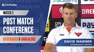 Indian T20 League, Match 3: David Warner explains the reason behind Kane Williamson's absence