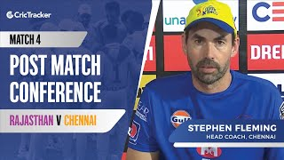 Indian T20 League, Match 4: Stephen Fleming on why MS Dhoni batted at No.7 vs Rajasthan