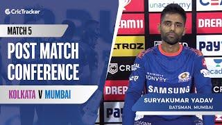 Indian T20 League Match 5: Suryakumar Yadav reacts to Mumbai's first win, Jasprit Bumrah's comeback
