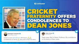 Virat Kohli, David Warner, and other cricketers offer condolences after Dean Jones passes away