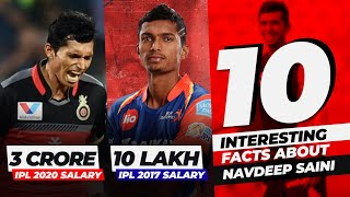Navdeep Saini - The future of Indian pace bowling, 10 unknown facts about Navdeep Saini, CricTracker