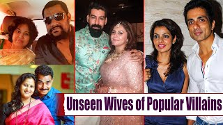 South Indian Villains With Their Wifes | Sonu Sood | Prakash Raj | Kalakeya Prabhakar | TopTeluguTV