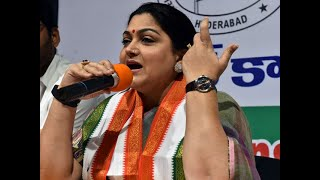 Tamil Nadu Congress' Khushbu Sundar resigns from party, set to join BJP today