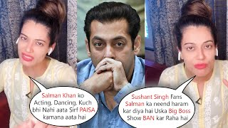 Payal Rohatgi Trolled Salman Khan For Earning Money From Bigg Boss Show & Praises Sushant Singh Fans