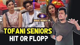 Bigg Boss 14: Toofani Seniors Concept HIT Or FLOP? | Sidharth Shukla, Hina Khan, Gauhar Khan