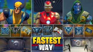 Fastest Way I got All Bosses, Mythic Weapons, Vault & Keycard! Boss Doctor Doom, Iron Man, Wolverine