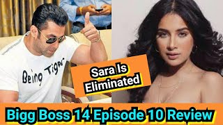 Sara Gurpal Becomes 1st Contestant To Get Eliminated From Bigg Boss, Bigg Boss 14 Episode 10 Review