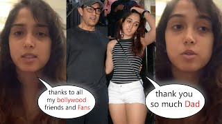 Aamir Khan's Daughter Ira Khan Thanks Her Friends and fans For Supporting After DEPRESSION post